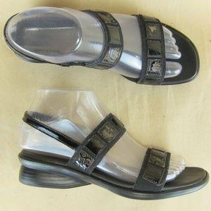 "MUNRO AMERICAN US 6.5M Women Sandal 1.5"" Wedge"